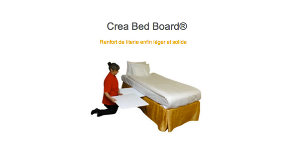 Renforts de literie Crea Bed Board®